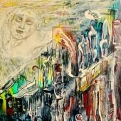 Morpheus over  the sleeping city